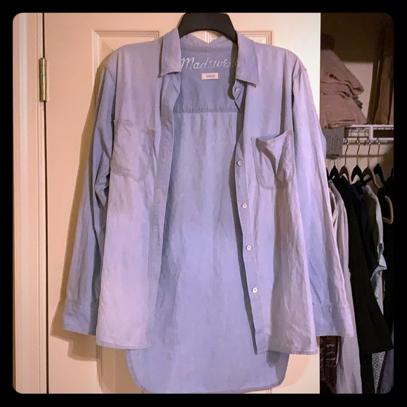 Madewell Tops - Made well chambray top